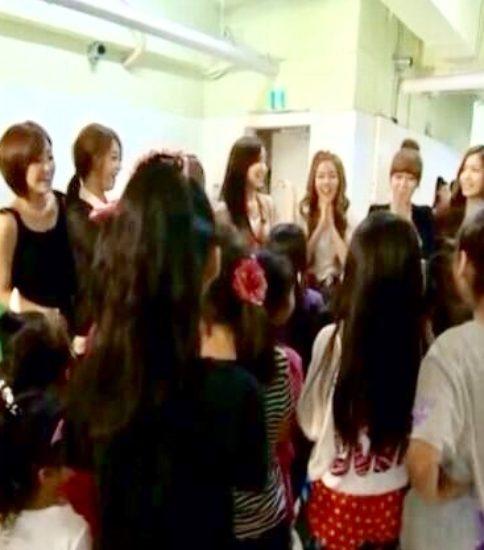 日本デビュー前のKPOPアイドルが多数DREAMの練習室に!
